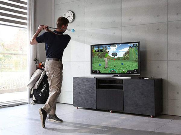 Symulator przypomina trochę rozrywkę na PlayStation Move czy Xbox Kinect