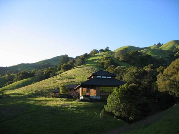 Spirit Rock Meditation Center in San Francisco, where I was at retreat recently.