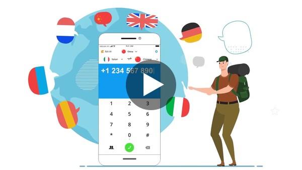 Phone Call Translator App Demo