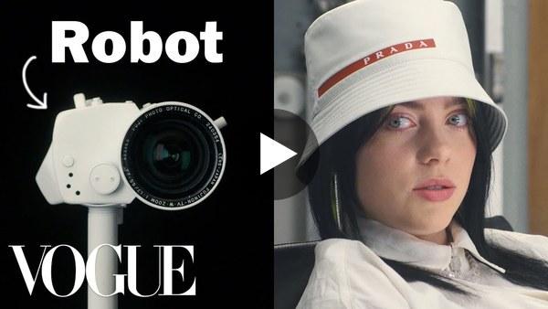 Billie Eilish Gets Interviewed By a Robot