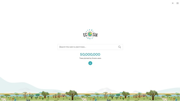 Ecosia - the search engine that plants trees