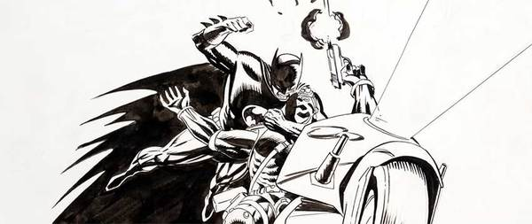 Lee Weeks - Original Batman Cover Art