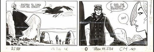 Hugo Pratt - Corto Maltese Original Comic Art