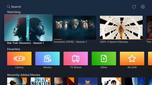 Infuse Pro 6 na Apple TV