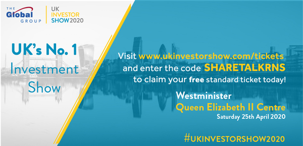 Get a Free Ticket for UK Investor Show