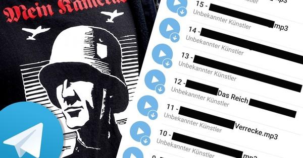 So hemmungslos verbreiten Neonazis rechtsextreme Musik auf Telegram - VICE