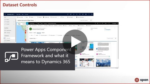 Power Apps Component Framework and what it means to Dynamics 365