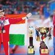 SM Shetty Girl Wins Three Medals at the International Kick Boxing Championship's