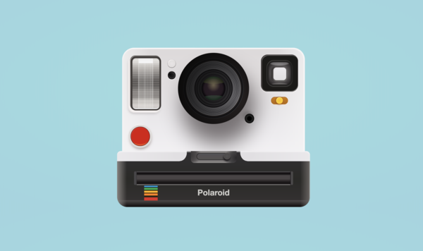 How I recreated a Polaroid camera with CSS gradients only by Sarah L. Fossheim