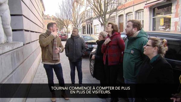 Visites guidées en langage des signes à Tournai - Rondleiding in gebarentaal in Doornik