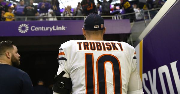 The Bears start their 'search' for competition for Mitch Trubisky