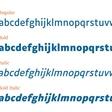 3 polices de caractères conçues pour les malvoyants