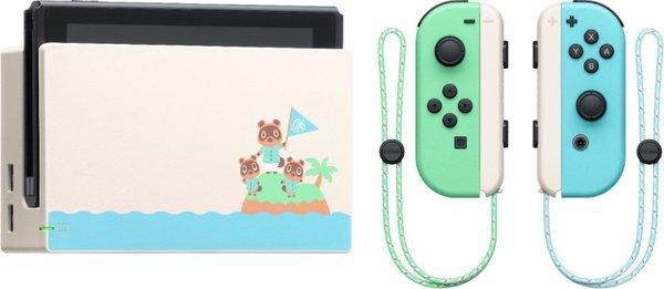 Nintendo Switch – Animal Crossing: New Horizons Edition docked console w/ JoyCons