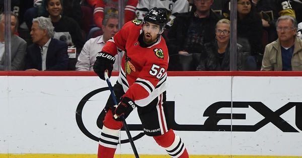 Blackhawks trade Erik Gustafsson to Flames