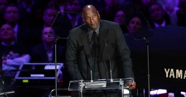 Kobe Bryant memorial: Michael Jordan offers emotional tribute to close friend