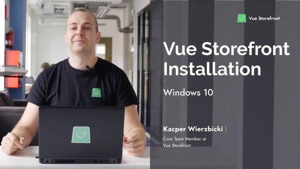 Video: How to install Vue Storefront on Windows