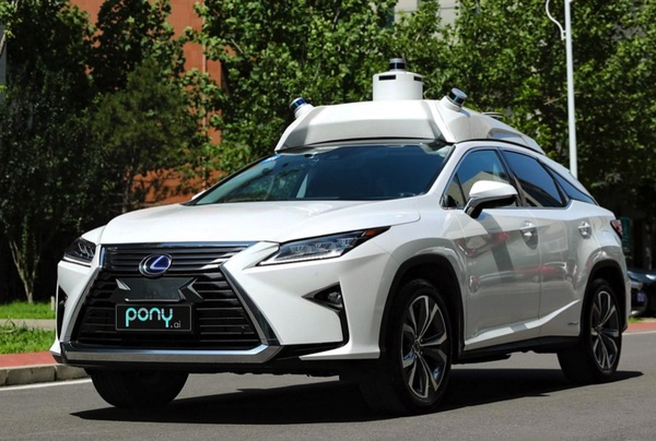 Chinese delf-Driving firm Pony.ai secures $400m from Toyota