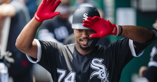 White Sox' Eloy Jimenez motivated to prove his critics wrong