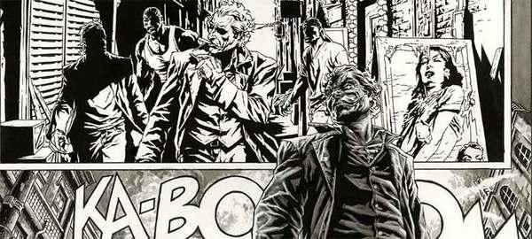 Lee Bermejo - Joker Original Comic Art