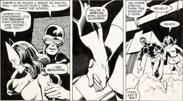 John Byrne - Uncanny X-Men Original Comic Art