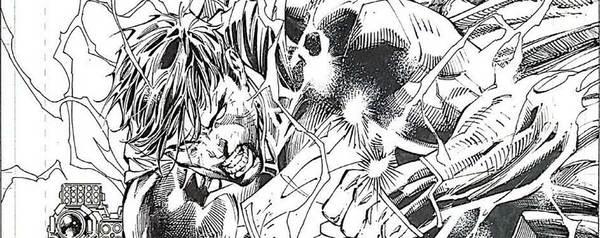 Jim Lee - Superman Original Art