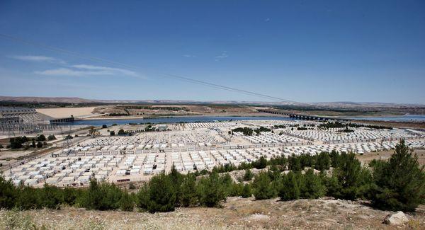 Vluchtelingenkamp in Turkije