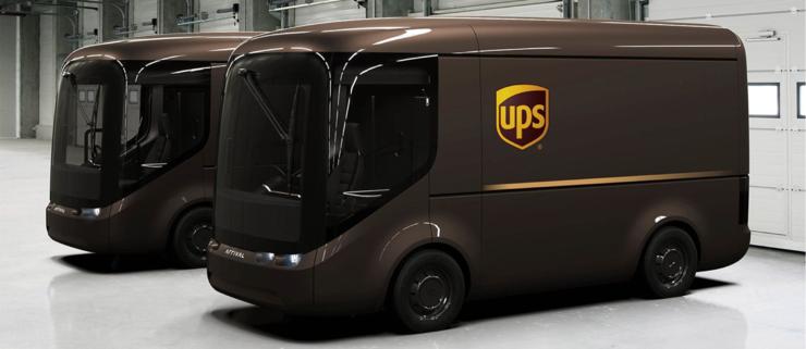 UPS har bestilt 10.000 elbiler