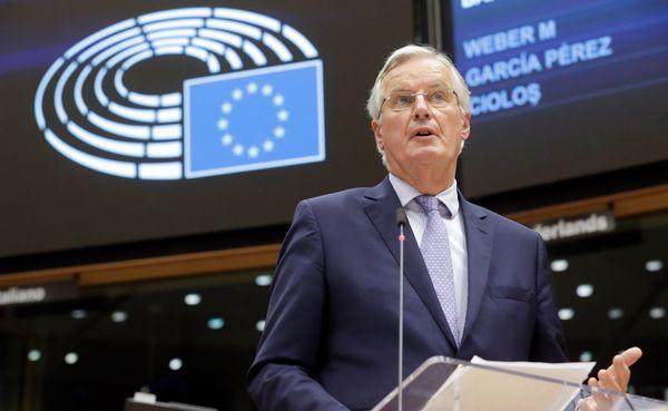 EU-hoofdonderhandelaar Barnier