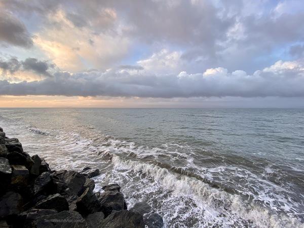 Sunrise at Gordon's Beach by Terrill Welch