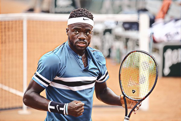 Let's just say Tiafoe is in a bit of a slump...