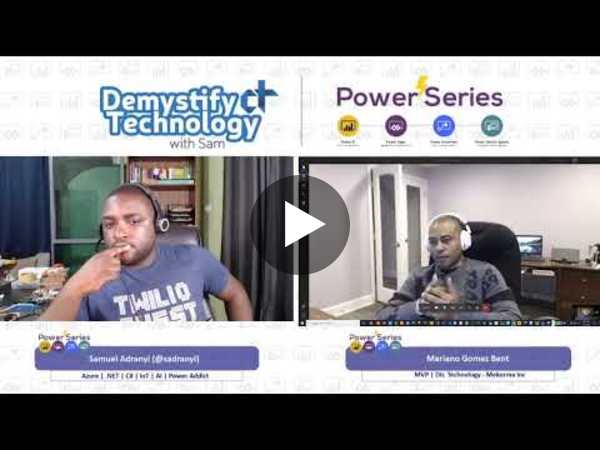 Power Series Episode #011: Using Power Apps & Power Automate with On-Premises Data
