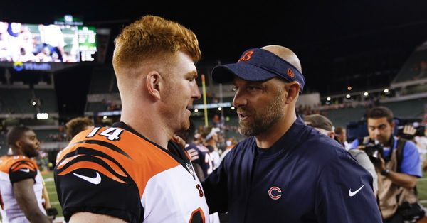Does Andy Dalton make sense for Bears as challenger to Mitch Trubisky?