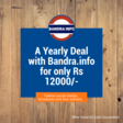 Yearly Advertising Deal with BANDRA INFO