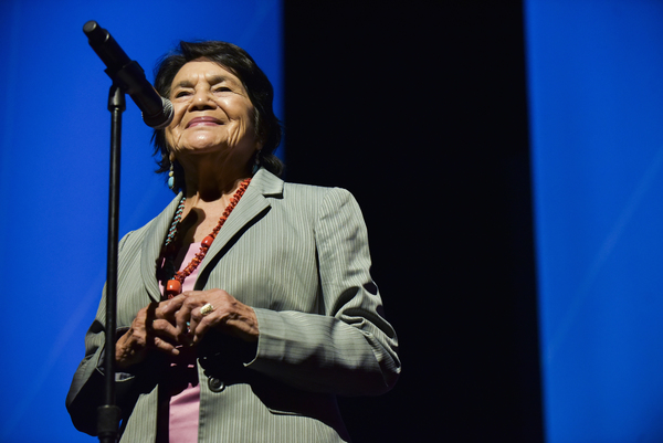 1.) AL DÍA News: Dolores Huerta to Latinos: Vote and participate in the Census