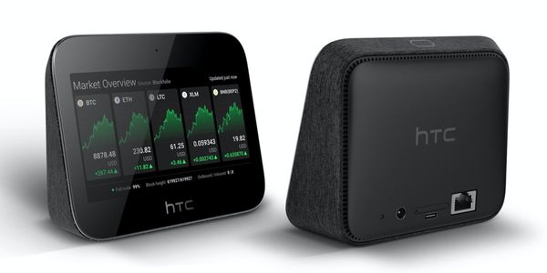 HTC reveals Exodus 5G Hub, a secure router that can run a Bitcoin node