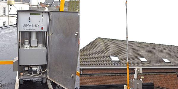 Ath : des appareils pour mesurer la qualité de l'air - Toestellen om luchtkwaliteit te meten in Ath