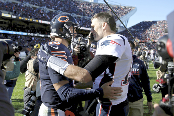 Rick Morrissey: The 49ers, Super Bowl finalists, are drawn to Tom Brady. Are the Bears? Um, yeah, about that ...