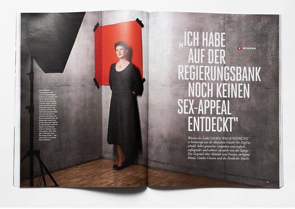 Das ganze Interview in der aktuellen Ausgabe des Playboy