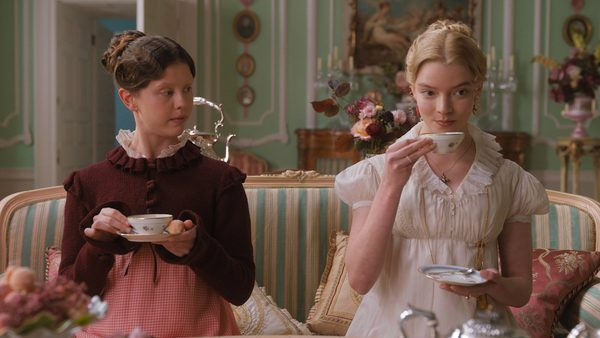 Pictured: The casting in this film fits to a tea.