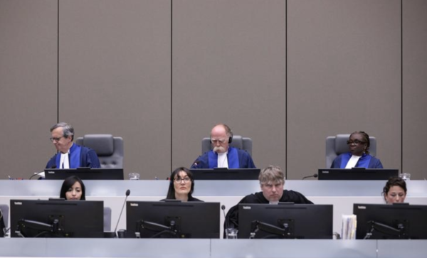 Rechters van het Internationaal Strafhof in Den Haag (foto: Reuters)