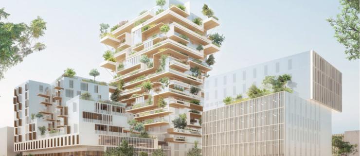 Frankrig vil bygge 50% i træ