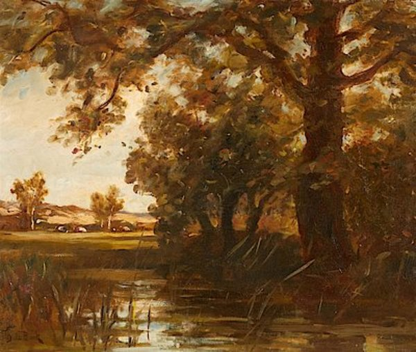 Landscape with a Pond - Auktionshaus Lempertz