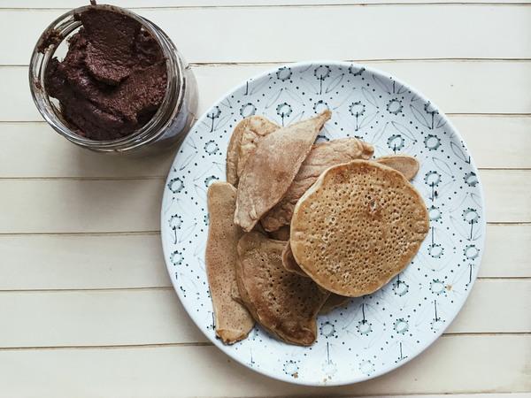 Des pancakes maison riches en protéines