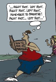 'how to run a marathon'