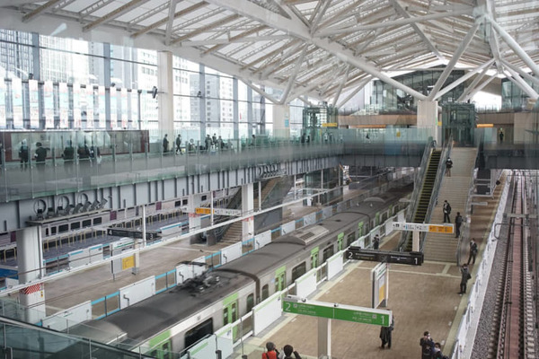 Media get peek at Tokyo's new high-tech Takanawa Gateway Station