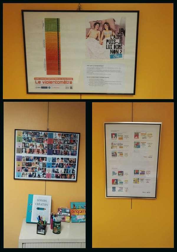 Exposition sur les droits des femmes / la violence envers les femmes