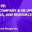 21st Century HR: Ep49.5 (Bonus) Coronavirus HR Resources