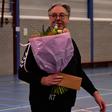 Mooi afscheid trainer/coach van handbal dames ROAC