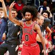 Bulls guard Coby White pulls out victory in first NBA start