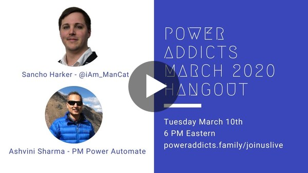 PowerAddicts Hangout March 2020